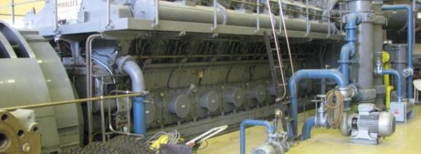 Mirrlees KV16 MK2 Generator